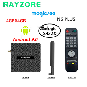 Magicsee N6 PLUS TV Box Amlogi