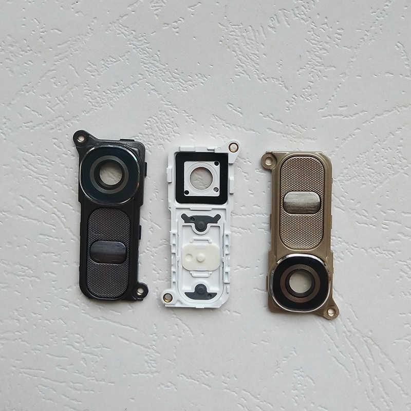 BINYEAE arka kamera cam Lens + çerçeve tutucu + güç düğmesi + bant için G4 H810 H815 F500 yüksek kaliteli yedek parça