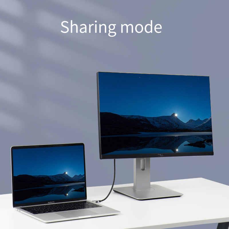 هاجيبيس ميني ديسبلايبورت كابل وصلة بينية مُتعددة الوسائط وعالية الوضوح 4K Thunderbolt 2 HDMI محول عالية الجودة محول للحاسوب النقال برو سطح الهواء ماك HDTV