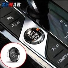 Parada de Partida Do Motor Interruptor de Botão de cristal da Etiqueta Para A BMW G20 G21 X5 G05 X7 G07 Z4 G29 G14 G16 8 3 Series 2019 2020 M Acessórios