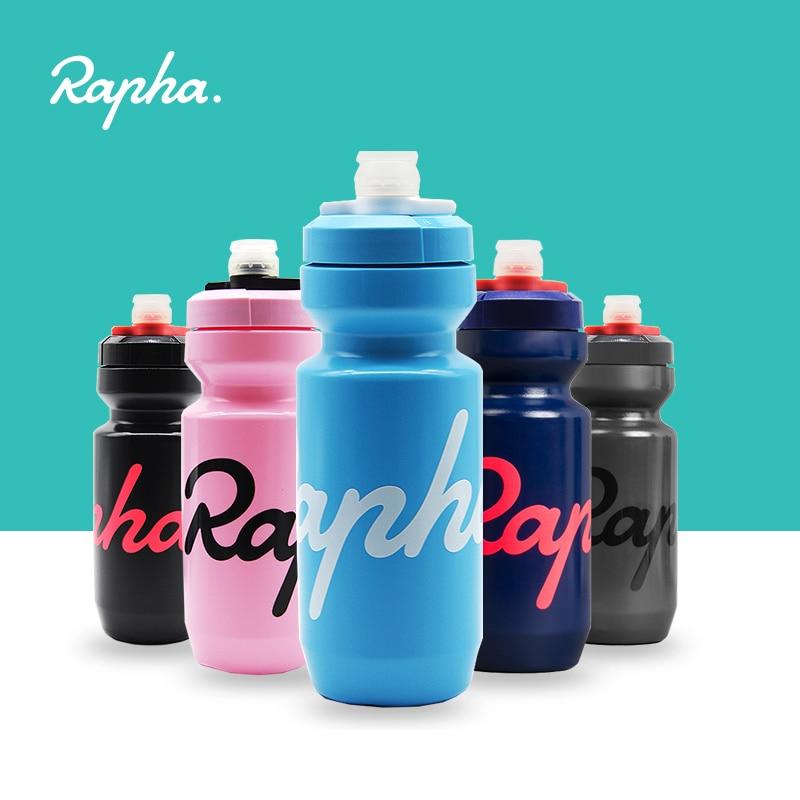 Rapha bisiklet su şişesi 620/750ml sızdırmaz sıkılabilir tat-ücretsiz BPA içermeyen plastik kamp yürüyüş spor bisiklet su ısıtıcısı