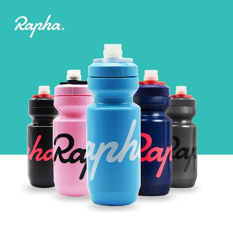 Rapha kolarstwo bidon 620/750ml szczelny wyciskany bezsmakowy bez BPA plastikowy Camping piesze wycieczki sport czajnik rowerowy