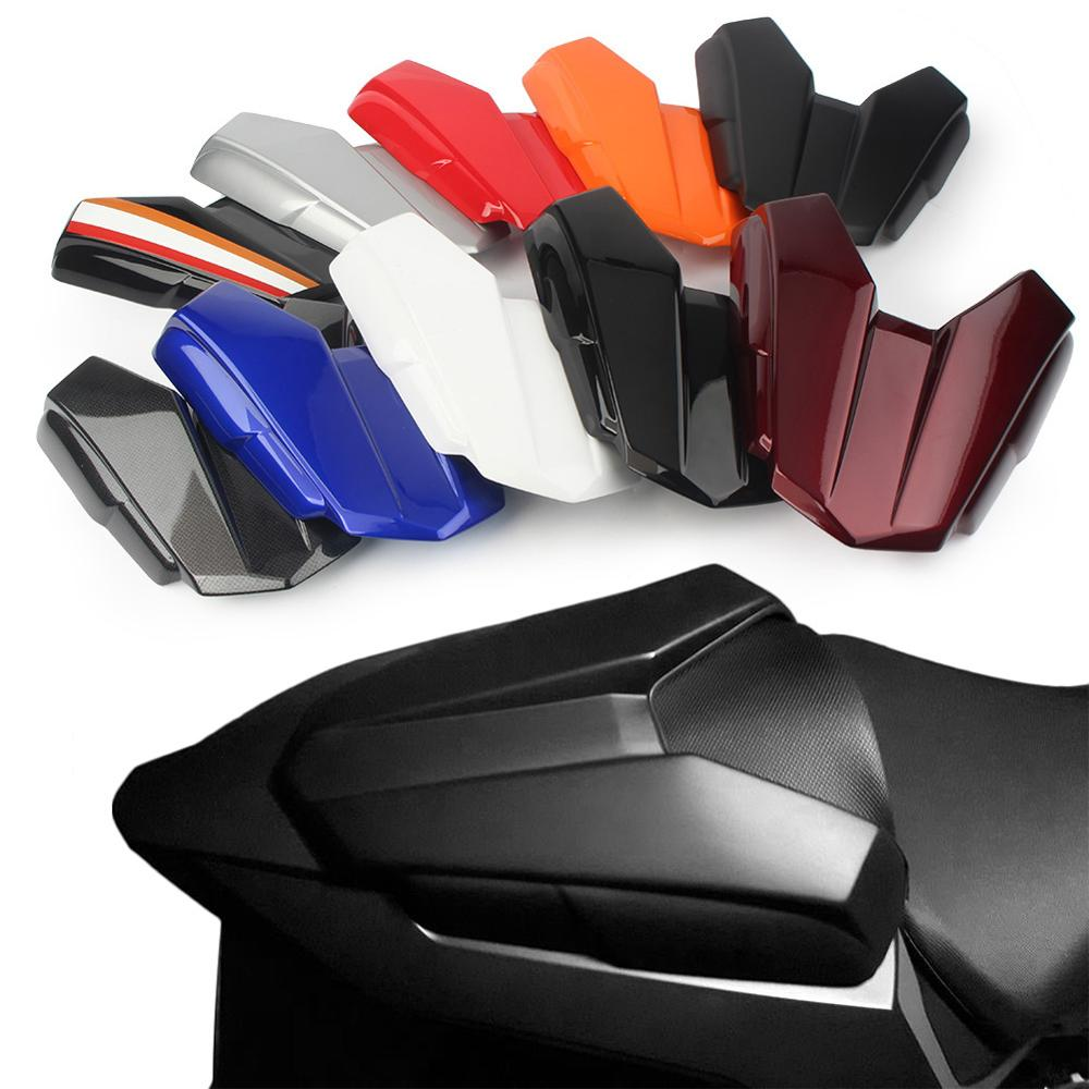 Motorcycle Rear Pillion Passenger Cowl ABS Seat Back Cover For Honda CB500F <font><b>CBR500R</b></font> 2016 2017 <font><b>2018</b></font> CBR 500R image