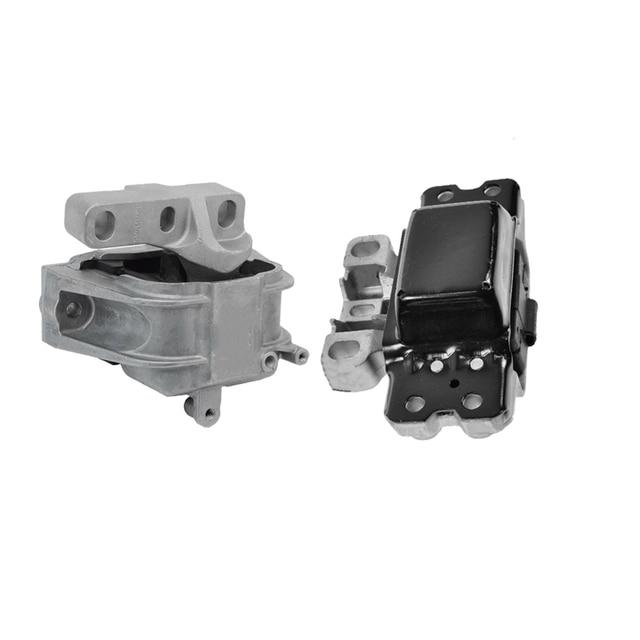 1K0199555 1K0199262 Engine Support&Gearbox Support Mount  Set For Audi A3 S3 VW Golf Jetta Touran Skoda 1K0199262M 1K0199262AB 2
