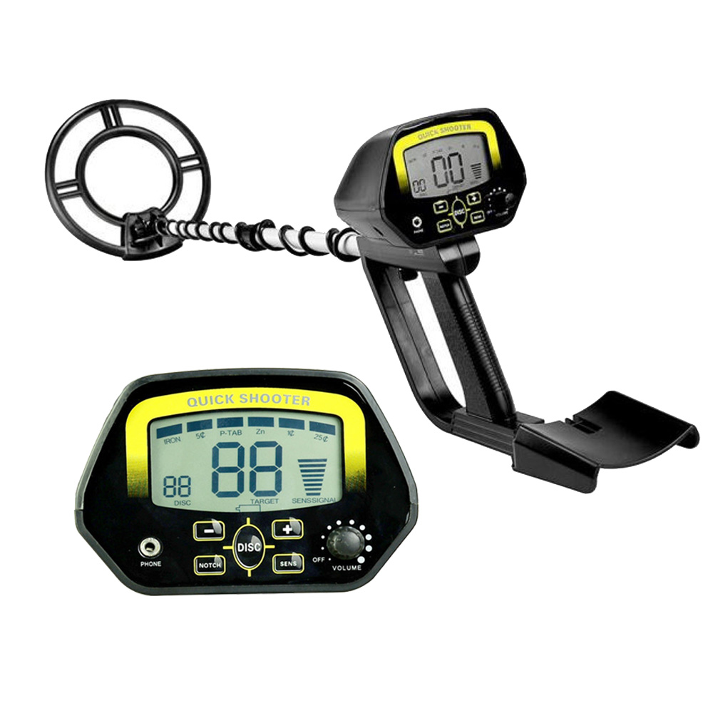 Underground Metal Detector Waterproof Jewelry Treasure  Hunting Gold Digger Search High Sensitive Metal Finder