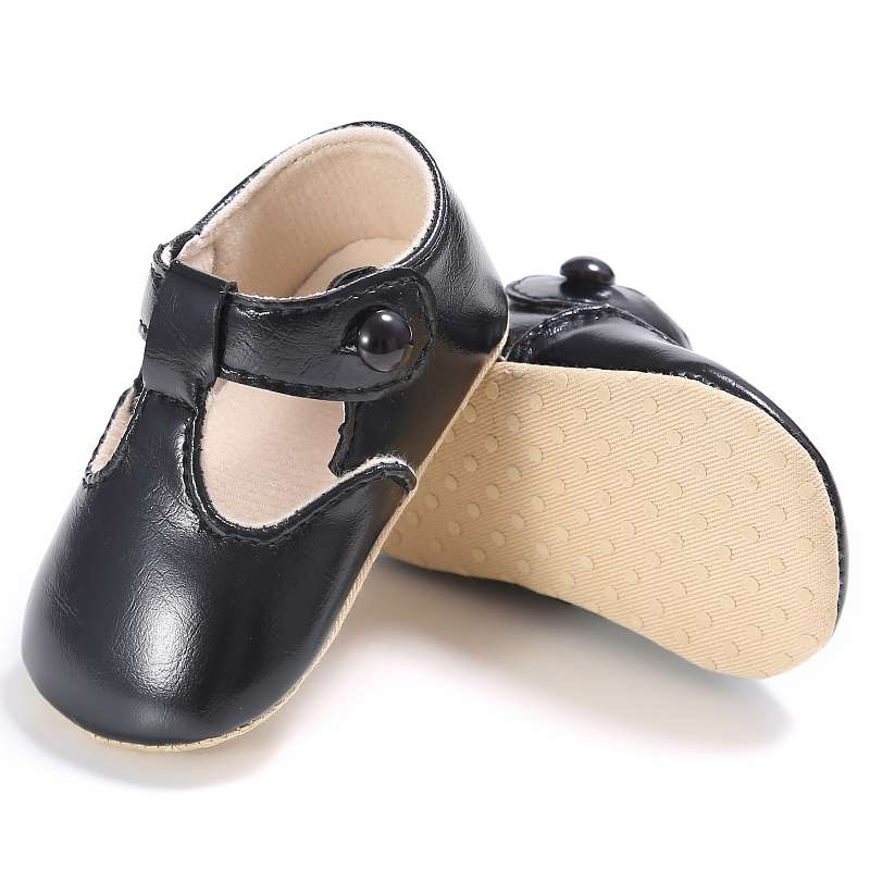 0-18M Spring Baby Shoes PU Leather Newborn Boys Girls Shoes First Walkers Baby Moccasins 5 Colors