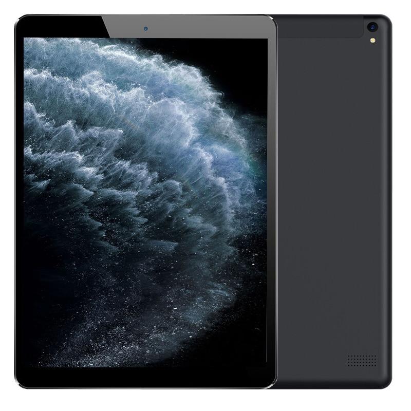 CARBAYTA 10.1Inch MediaTek Octa Core IPS 6GB RAM 64GB ROM Cellular 2 SIM Phone Tablet PC 3G WCDMA 2G GSM GPS WIFI Android 9.0