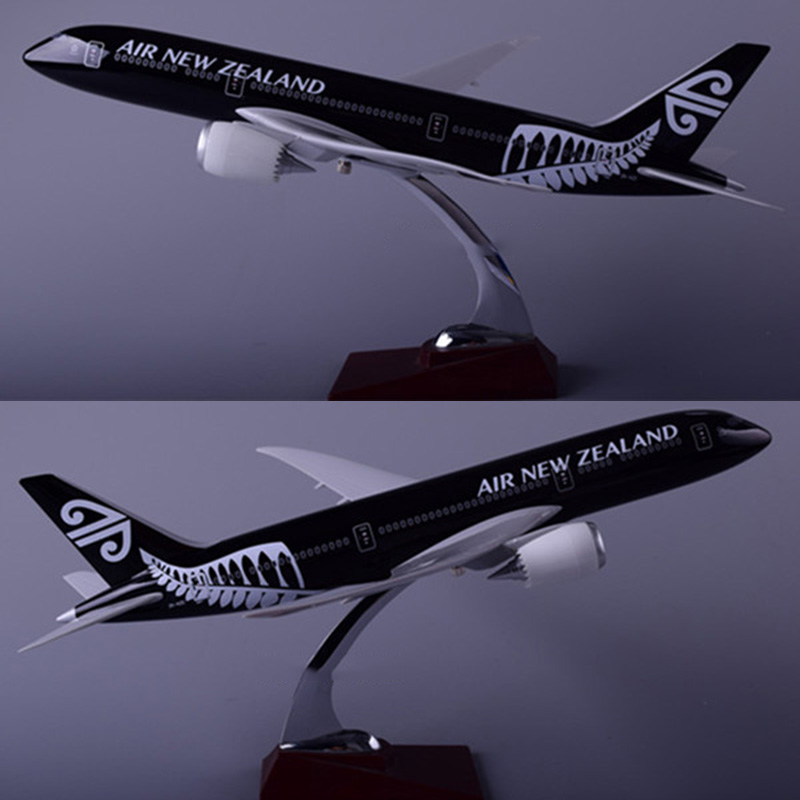 43CM 1:172 Scale Boeing B787 NEW ZEALAND Airline Airplane Aviation model base alloy aircraft plane collectible toy collection image