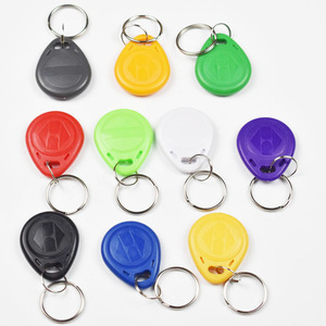 Image 2 - 10pcs/Lot 125Khz Proximity RFID EM4305 T5577  Smart Card Read and Rewriteable Token Tag Keyfobs Keychains Access Control