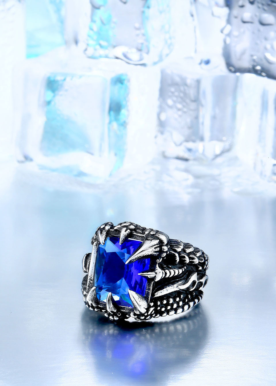 H79145e96d8da47cf93e1e4a71c6a3afcP - Paladin Dragon Claw Ring