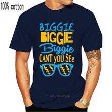 Haube Ornamente Biggie Biggie Biggie Kann nicht Sie Sehen-Musik-Mens Baumwolle T-Shirt