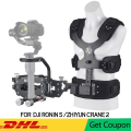 PRO Stabilizer Gimbal Support Vest Steadicam with Z Axis Spring Arm for DJI Ronin S Zhiyun Crane 2 Moza Air 2