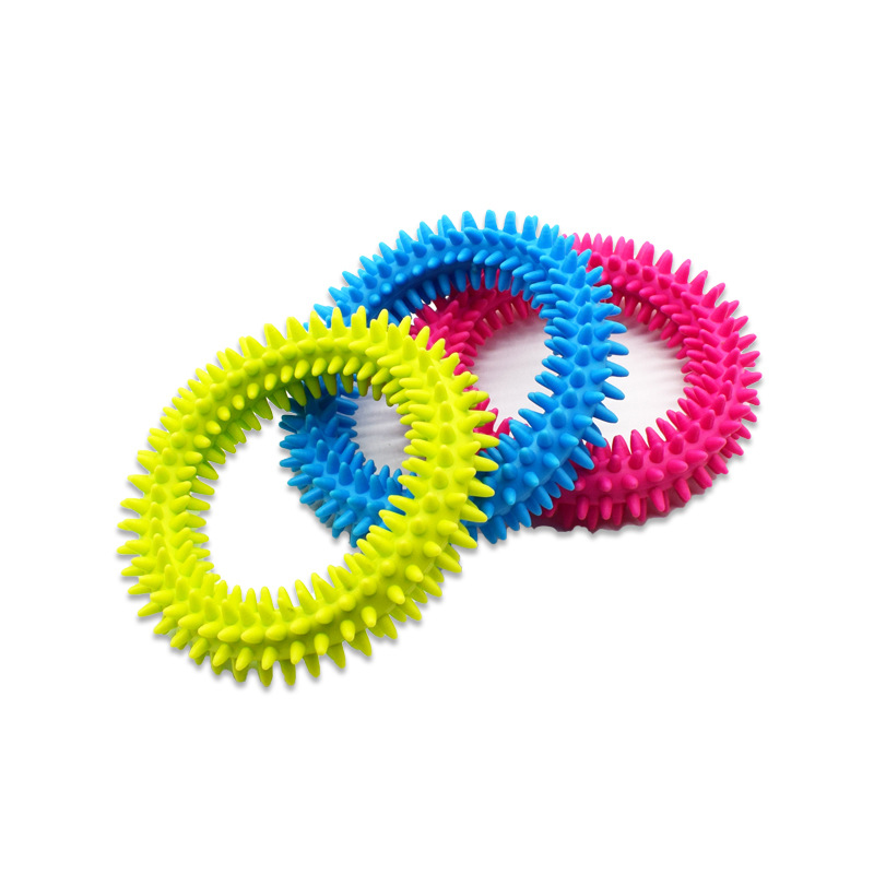 2020 Real New Arrival Stress Relief Fidget Bracelet Spiky Rings Sensory Fidgit Toy For Autism Adhd Anxiety Quiet Message Ring
