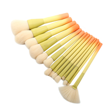 14pcs Makeup Brushes Set Soft Cosmetic Powder Blending Foundation Eyeshadow Blush Brush Kit Make Up Tools pro 9 pcs makeup brushes set tools make up toiletry kit wool puff foundation powder case cosmetic foundation brush
