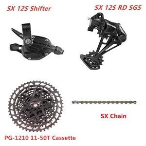 Image 3 - SRAM SX EAGLE 1x12 Speed 11 50T 10 50T Groupset Trigger Shifter Derailleur SX Chain KMC Chain NX 1230 Cassette  SX 1210 Cassette