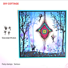 fairy Set Silicone Transparent Rubber Stamp background clear Stamps DIY Scrapbooking card making