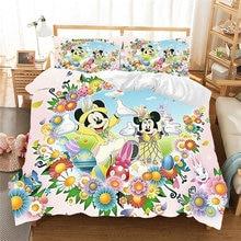 Комплект постельного белья с рисунком «кролик» «Микки Маус»