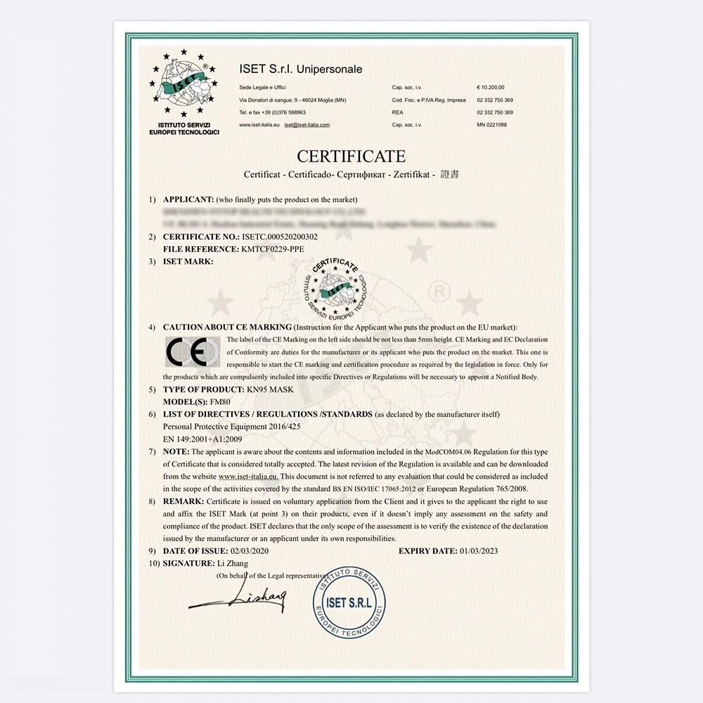 Image 5 - 5 шт. KN95 Сертификация CE маска для лица против гриппа N95  медицинская маска для рта такая же Защитная как KF94 FFP2Маски   -