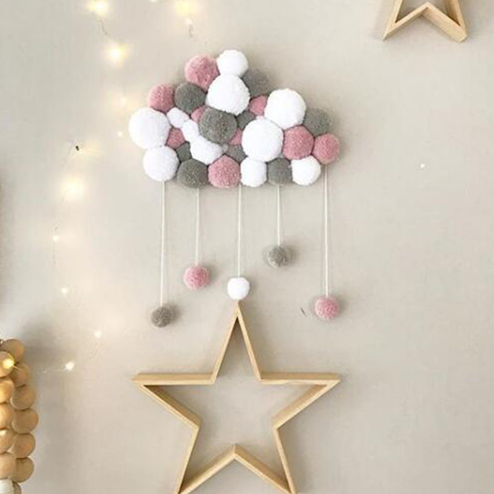 Nordic Baby Girl Room Decor Girls Bedroom Children's Room Crib Toys Baby Nursery Cute Decoration Home Stuff Photography Props