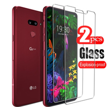 2PCS For LG G8 G8X G8s V50 V50S ThinQ K40 K40s K50 K50s Q60 Q6 Q9 G7 One Stylo 5 4 X power Tempered Glass Protective Screen Film