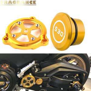 Motorcycle modified frame hole cover front drive shaft protection cover for YAMAHA TMAX 530 DX SX 2012-2018 2014 2013 body plug