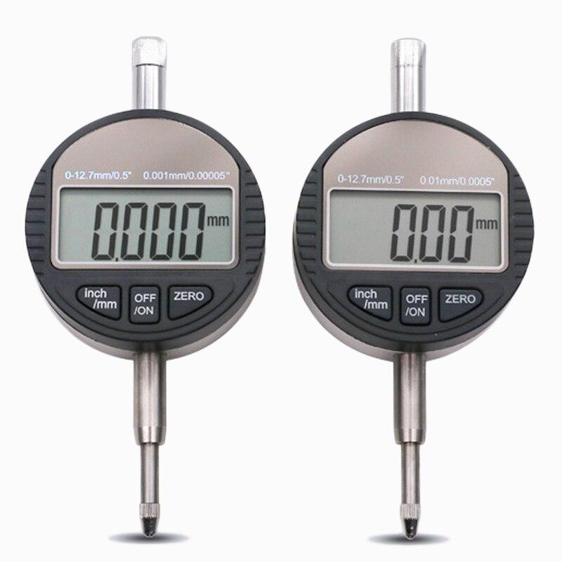 0-12,7mm 0,01 0.001mm Indicador de Dial Digital micrómetro electrónico medidor de profundidad herramienta de medición Sofirn SP33 potente linterna LED 26650 Cree XHP50 3000lm linterna táctica 18650 luz de Flash 6 modos con actualización de luz indicadora