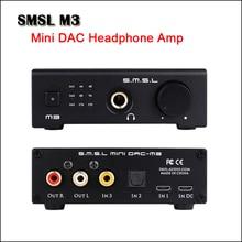 цена на SMSL M3 Desktop Mini DAC Headphone Amplifier Hifi CS4398 USB DAC Audio Headphone Amp Optical Coaxial input