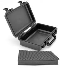 Водонепроницаемый ящик для инструментов герметичный кейс оборудование корпус ударопрочный коробка для камеры инструмент чехол с предварительно вырезанной пеной
