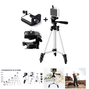 Image 5 - Tripod Mount Stand Set With Phone Holder Clip For Smartphone Telescopes Digital Go Pro Camera UY8
