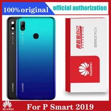 Original For Huawei P Smart 2019 POT LX3 POT L23 POT LX1 POT L21 POT LX2 Back Battery Cover  Housing  parts