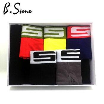 4 Pieces/lot Cotton Men Boxers U Convex Pouch Underwear Size M~XL Brand Sexy Shorts Cueca Male Panties No for Gay
