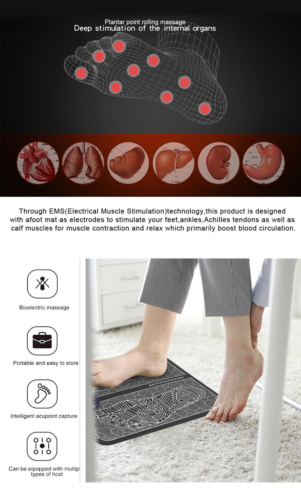 EMS Foot Massager Mat 9