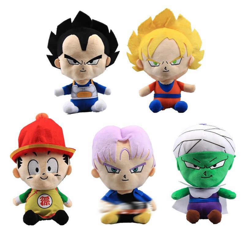 30 centímetros Bonito do Anime Dragon Ball Série de Pelúcia Recheado Brinquedos Son Goku Son Gohan Piccolo Decoração Boneco de Pelúcia de Férias As Crianças presentes Novo