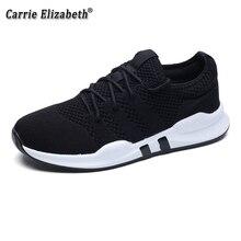 купить 2019 Hot Sale Men's Mesh Casual Shoes Outdoor Comfortable Breathable Men Sneakers Low To Help Fashion Men shoes дешево