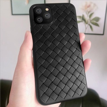 Weave Leather Pattern TPU Cases for iPhone 11/11 Pro/11 Pro Max 1