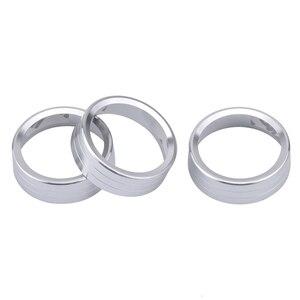 Image 5 - Air Conditioning Knob Decorative Cover Ring Adjust Trim Cover For VW Tiguan Atlas T roc Ateca FR Passat B8 Variant 2017 2019