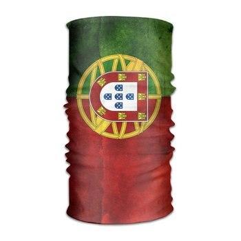 XicoLtd bandera portuguesa Unisex para exteriores, bufanda de deporte, diademas, máscara de pañuelo, banda para el cuello, banda para el pelo