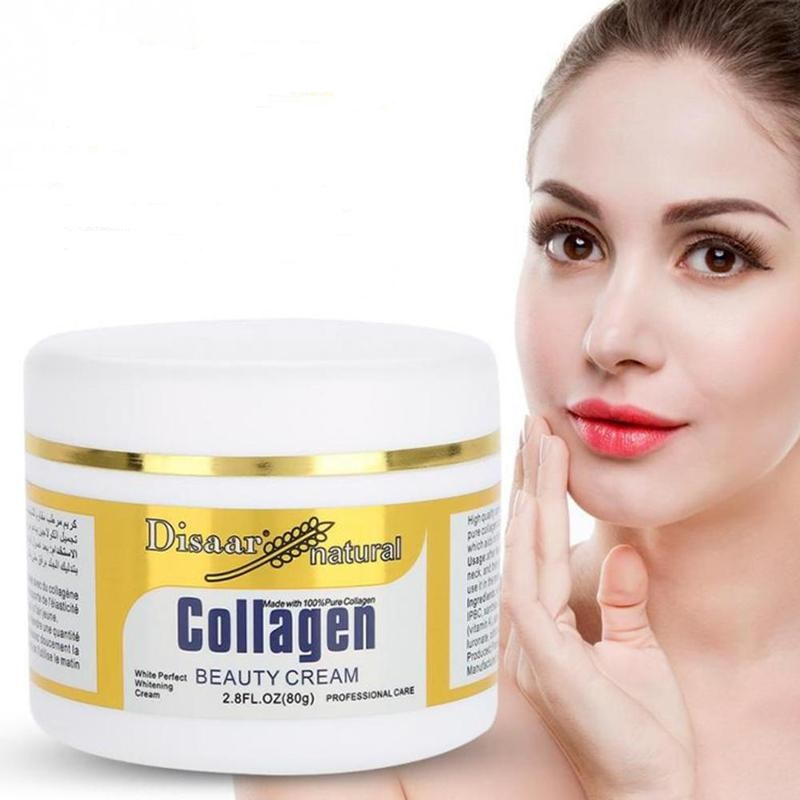 Disaar Natural Collagen Beauty Face Cream Firming Skin Care Whitening Moisturizing Anti-aging Anti Wrinkle Facial Cream
