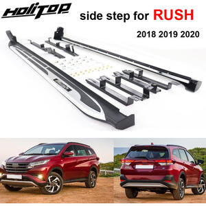 Running-Board Toyota Rush for 4-People From-The-Top-Factory. Side-Step-Side-Bar Can-Load-300kg