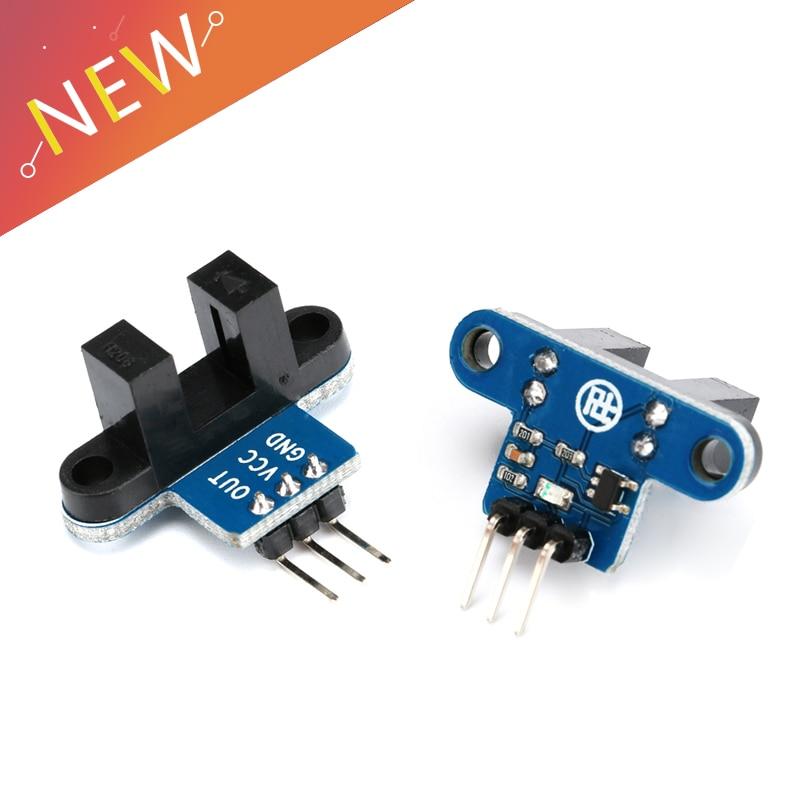 5Pcs Motor Test IR Infrared Slotted Optical Speed Measuring Sensor Detection Optocoupler Module