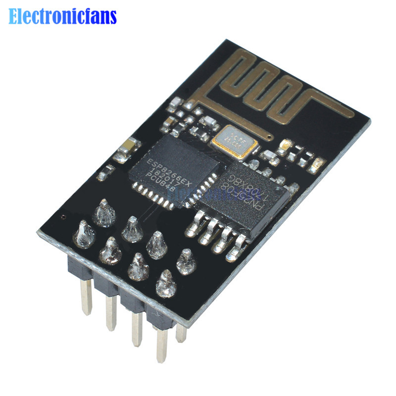 1Pcs ESP8266 ESP-01 ESP01 Serial Wireless WIFI Module Transceiver Receiver Internet Of Things Wifi Model Board For Arduino