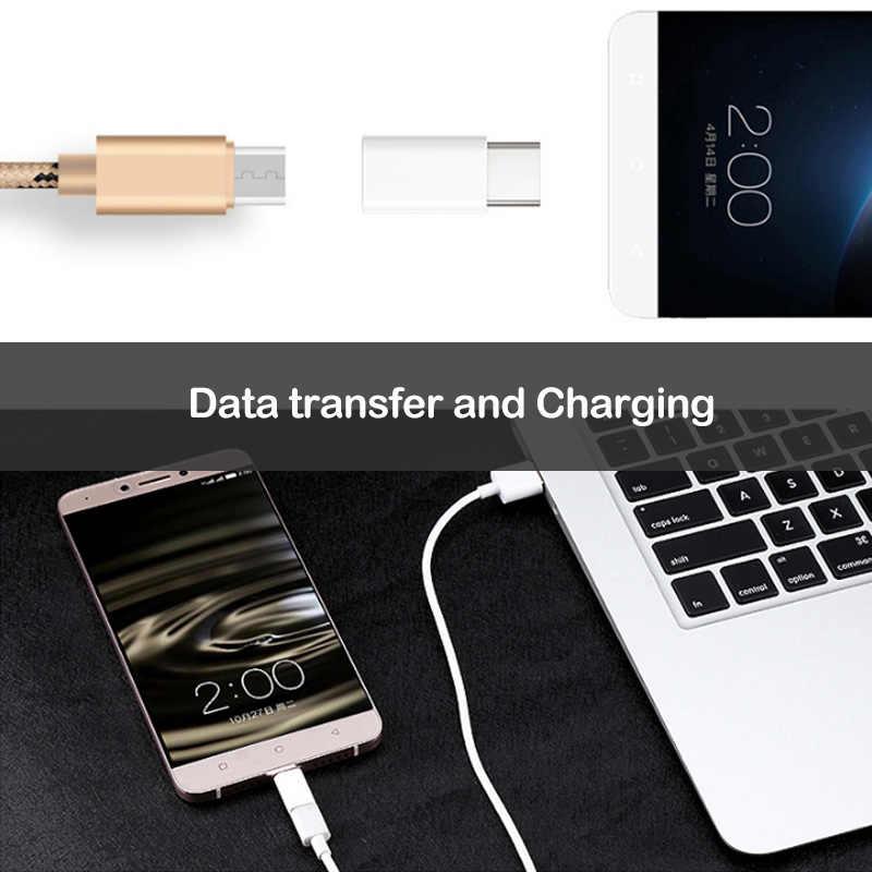 2 Chiếc Micro USB Sang Type C Sạc Adapter Dành Cho Lenovo Z5 Z5S Z6 Pro S5 K520 K5 Pro K10 lưu Ý USBC Điện Thoại OTG Cổng Kết Nối