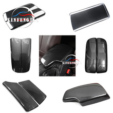 For BMW 3 5 7 Series 3GT 5GT 6GT X5 X6 X7 Carbon Fiber Car Center Armrest Box Protective Cover Auto Seat Arm Rest Box Cover