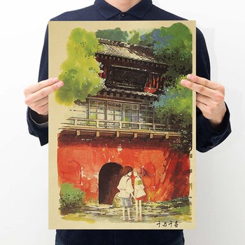 Classic Vintage Retro Picture Collection Kraft paper Poster and Prints Bar Coffee Room Living Bedroom for Girl Japanese Dropship image
