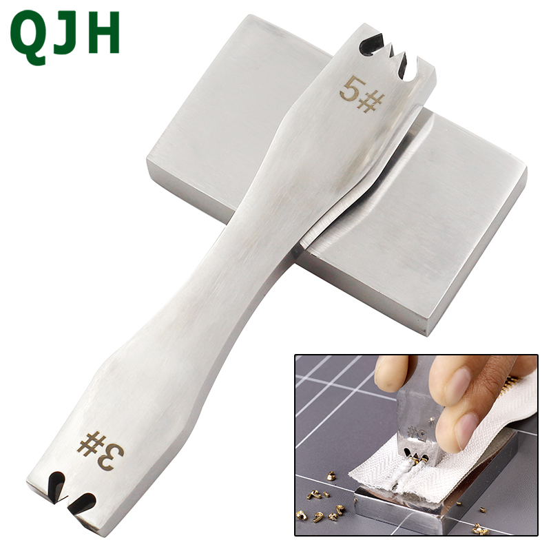 DIY Tools 3 # 5 # Zipper Steel Teeth Remover Blade Zipper Gear Remover Diy Leather Craft Tool Zipper Mounting Accessories