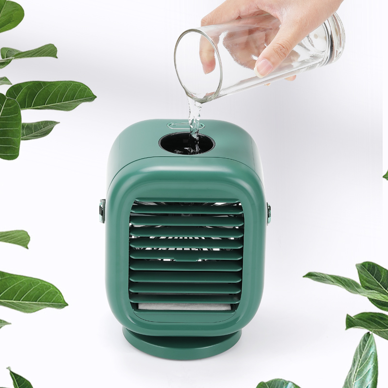2021 Hot Selling Oscillating Air Coolers Desktop Fan Cooling Humidifying Portable Usb Air Cooler Fan For Office Home