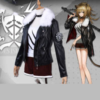Game Arknights Costume Siege Cosplay Uniform Fancy Dress Coat Adult Women Girl Halloween Carnival Party Outfit Full Set