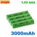 100% AAA батарея 3000 мАч 1,5 В щелочная AAA перезаряжаемая батарея для пульта дистанционного управления батарея для игрушечного светильника