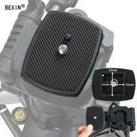 BEXIN Universal tripod monopod Three-dimensional Plastic Adapter mount Camera Tripod Head Quick Release Plate Tripod Platform