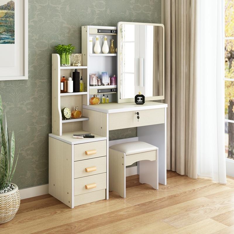 Dresser Bedroom Furniture Dressing Cabinet Modern Simple Penteadeira Toaletka Do Sypialni Makyaj Masası Vanity Set Cheap